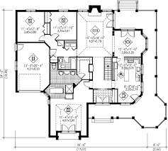 cabin blueprints floor plans house floor plan design home design