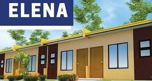 Row House Model - elena model house lumina panabo davao best property
