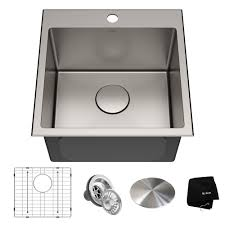 bowl kitchen sink for 30 inch cabinet 18 drop in 16 stainless steel single bowl kitchen sink