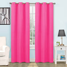 Kitchen Window Curtains by Eclipse Arbor Blackout Window Curtain Panel Walmart Com