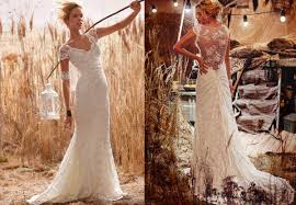 dress for barn wedding wedding gowns from olvi s rustic wedding chic