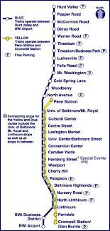 baltimore light rail map mta light rail map americanwarmoms org