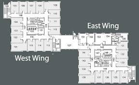 Floor Plan White House Room Info Bridgman Hall Residence Halls Housing And Residence