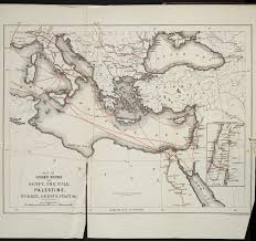 Map Of Italy And Greece by Map Of Cook U0027s Tours To Egypt The Nile Palestine Turkey Greece