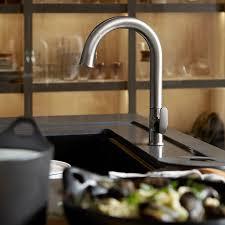kohler sensate touchless sink faucets kohler k 72218 b7 vs sensate touchless pull kitchen faucet