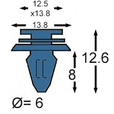 exterior moulding clips