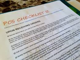 Household Items Checklist by Pcs Checklist Antics Of A Nutty Hiker U0026 Military Spouse