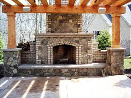 contemporary brick fireplace design home fireplaces firepits