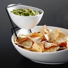 r ilait cuisine gibson elite gracious dining 2 tier chip dip server set