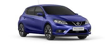 nissan purple nissan pulsar the intelligent 5 door family hatchback