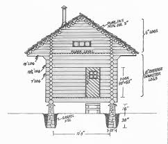 small log cabin blueprints build a log cabin for 100 green homes earth news