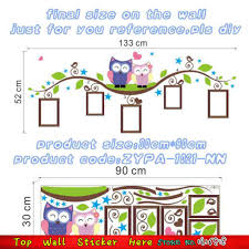 Wise Decor by Cute Wise Owls Wall Stickers Album Decoration Henna Wall Stickers
