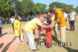 Tamil New Year Bay Decoration by Slaf Celebrates Sinhala Tamil New Year Festival Sri Lanka Air Force