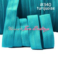 elastic ribbon wholesale aliexpress buy 340 turquoise elastic ribbons wholesale fold