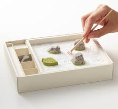 Mini Zen Rock Garden Edible Zen Garden And Relaxing Japanese Japanese