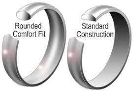comfort fit wedding bands comfort fit wedding bands applesofgold
