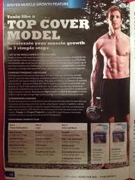 maximuscle top cover model training plan sean lerwill