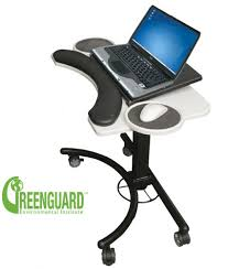 Ergonomic Laptop Desk Portable Workstation Lapmatic Ergonomic Laptop Workstation