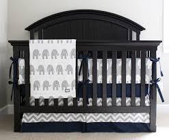 Baby Boy Chevron Crib Bedding Elephant Nursery Crib Bedding Set Baby Boy Navy Blue Crib