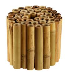 tonnelle en bambou bordure en bambou