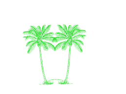 palm tree svg double green palm tree free images at clker com vector clip