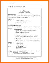 Resume Sample With Skills Section by Skills Section Of Resume Sop Proposal