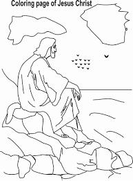 jesus christ coloring printable page 5 for kid