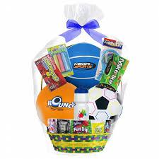 sports easter baskets megatoys boy s sport easter basket shop your way online