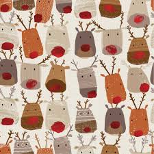wrapping paper on sale reindeer heads 3m christmas roll wrapping paper