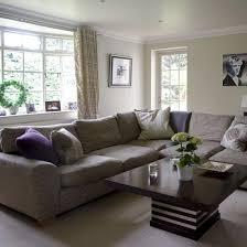 Living Room Grey Sofa by Corner Living Room Purple Cushions Taupe Walls And Purple