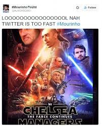Chelsea Meme - jose mourinho virals memes mock sacked chelsea manager daily mail