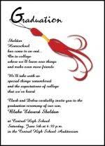 wording for graduation announcements themes free graduation invitation quotes and sayings with gray