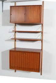Modern Wall Cabinet by Drop Down Desk Bar Wall Cabinet By Cado Royal System Danish Modern
