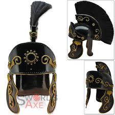 dark legionaries roman galea armor helmet 18g carbon steel horse
