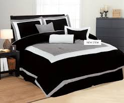 solid white comforter set bedroom black white and grey comforter set in king size style