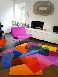 Modern Colorful Rugs Modern Area Rugs For Living Room Rectangular Pattern Colorful Rug