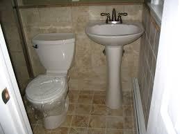 simple bathroom renovation ideas charming tiny bathroom renovation ideas with pedestal sink also