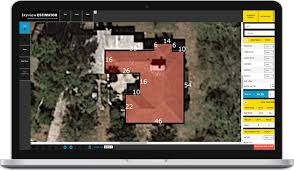 Estimating Roof Square Footage by Skyview Estimator Roof Measurement Services Roof Reports From