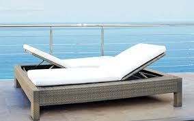 awesome white outdoor chaise outdoor lounge chair modern chaise