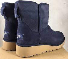 s navy ugg boots ugg australia comfort slim heel boots for ebay