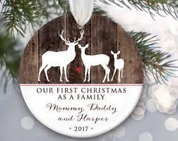 family wood ornament etsy