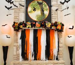 Halloween Garland Halloween Mantel Garland Eighteen25