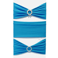 blue chair sashes spandex chair sash blue faraway event rentals koh samui