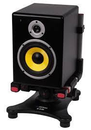 alctron ms 160 adjustable desktop studio monitor speaker isolation