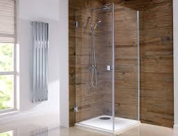 beautiful orca hinged frameless shower enclosures available from