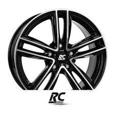 rc design rc27 alloy wheels rc design rc 27 shiny black polished n 3977