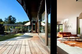 u shaped house cool beach house plans modern u shaped design