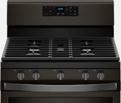 black kitchen appliances fingerprint resistant black stainless steel matte black kitchen