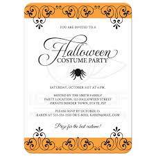 Halloween Birthday Party Invitations Templates by Plan Halloween Birthday Party Invitation Wording Birthday Party