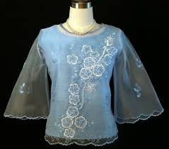 kimona dress baby blue kimona 5264 barongs r us